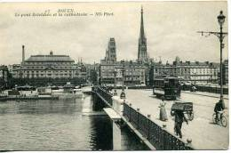 Rouen   Pont Boeldieu     Animée - Rouen