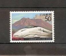 JAPAN NIPPON JAPON KYUSHU-SHINKANSEN LINE: TSUBAME, KAGOSHIMA 2004 / MNH / 3640 - 1989-... Empereur Akihito (Ere Heisei)