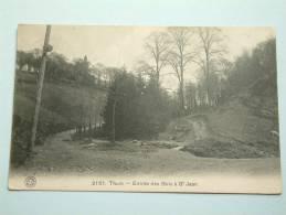 Entrée Des Bois à St. Jean / Anno 1914 ( Zie Foto Voor Details ) !! - Thuin