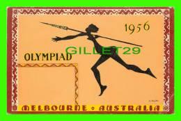 MELBOURNE, AUSTRALIE - OLYMPIAD 1956 - ILLUSTRATEUR, S. RAJKO - MODERN MASTERS - - Melbourne