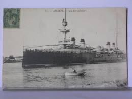 """TUNISIE - BIZERTE - """"LA MARSEILLAISE"""" - 1908 - Paquebots"""