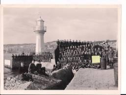 9eme Régiment De Zouaves Alger En Tenue Guerre Et Sortie WWII Ww2 2wk - War, Military