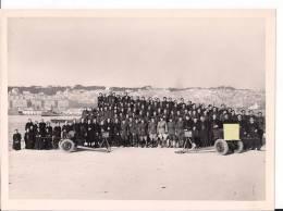 9eme Régiment De Zouaves Alger Avec Canon De 25mm Antichar Et Contre Torpilleur 1939-1945 39-45 WWII Ww2 2wk - War, Military