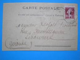 17 : MARENNES :CARTE POSTALE CORRESPONDANCE De Mr. FROIDE FOND : Carte En Trés Bon état - Marennes