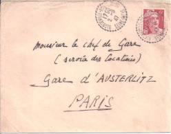 SEINE INFERIEURE - Cachet De BLOSSEVILLE BONSECOURS - Postmark Collection (Covers)