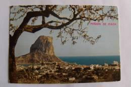 Espagne -  Calpe - Alicante - Vue Générale Du Village Et Rocher D'Ifach - Alicante