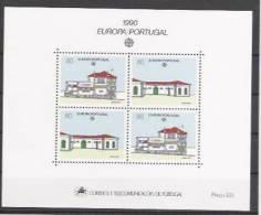 1990 Portugal Mi. Bl. 71 **MNH - Europa-CEPT
