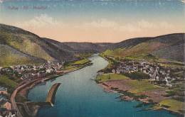 Aerial View Of Bullay, Alf, Moseltal, Rhineland-Palatinate, Germany, 10-20s - Allemagne