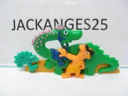 KINDER PUZZLE PLASTIC K00 N 10 1997 SANS OHNE WITHOUT BPZ - Puzzles