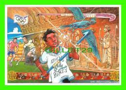 SPORTS OLYMPIQUES - LE HOCKEY SUR GAZON - ILLUSTRATEUR, Th, GAUFILLET - No 20 - FESTICART 2004 - TIRAGE 800 Ex - - Cartes Postales