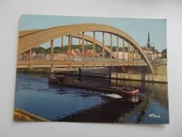 PONT-STE-MAXENCE  (Oise)  Le Pont Sur L'Oise - Pont Sainte Maxence