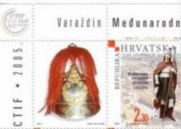 FIREMANS ( Croatia Stamp & Label  MNH** ) Fire Brigade Fireman Firemen Sapeurs-pompiers Firemens Sapeur Pompier - Firemen