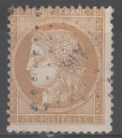 Cérès N° 59 Avec Oblitèration Losange Petites Lettres P AM?  TB - 1871-1875 Cérès
