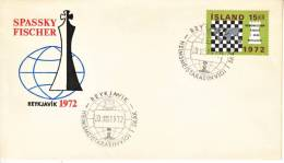 Iceland Cover FDC CHESS  SPASSKY-FISCHER - FDC
