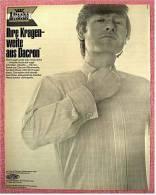 Reklame Werbeanzeige  -  Du Pont  Attache Herrenhemd  -  Ihre Kragenweite Aus Dacron  -  Von 1969 - He