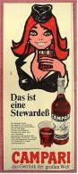 Reklame Werbeanzeige  -  Campari  -  Das Getränk Der Großen Welt  -  Von  1969 - Spirituosen