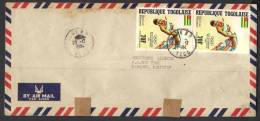 Los Angeles Olympic Games, Sports, Jumping, Postal History Cover From TOGOLAISE 20-12-1984 - Summer 1984: Los Angeles