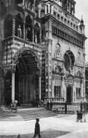 """Cartolina D'epoca """"Bergamo Alta - Cappella Colleoni E S.Maria Maggiore """" - Bergamo"""