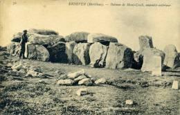 56 - ERDEVEN - Dolmen De Manè Crock, Ensemble Extérieur - Erdeven