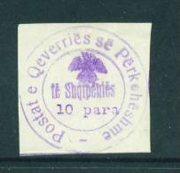 ALBANIA  -  1913  10pa  Mounted Mint As Scan (no Gum) - Albania