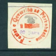 ALBANIA  -  1913  20pa  Mounted Mint As Scan (no Gum) - Albania