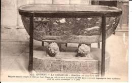 CPA MAINE ET LOIRE (49)   ANGERS  La Cathédrale Bénitier En Marbre Vert - Angers