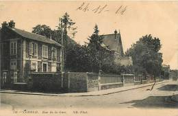 CORBEIL - Rue De La GARE - Vue Différente  - Edition N.D. Photo - 2 Scans - Corbeil Essonnes