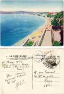 Juan Les Pins - Vue Générale ( Beau Cachet Commissaire Militaire Cannes, Correspondance Militaire ) - France