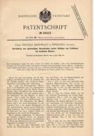 Original Patentschrift - Fa. F. Bannwart In Pinerolo , Italia , 1896 , Ferro Di Cavallo, Fabbro, Chiodo, Cavallo !!! - Ferro Battuto