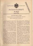 Original Patentschrift - Prismatischer Flugdrachen , Drachen , 1901 , E. Blin In Paris , Drachensteigen !!! - Historical Documents