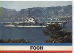 Bateaux - Porte Avion Foch - Warships