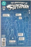 DC The Adventures Of Superman 551 Superman Cyborg - DC