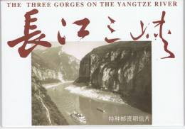 L-CH24 - CHINE Etui Avec 10 Cartes Entiers Postaux Vues Et Paysages Du YANGTZE - 1949 - ... République Populaire