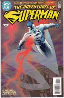 DC The Adventures Of Superman 549 The Man Beyond Tomorrow! - DC