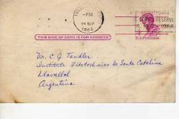 PHILADELPHIA  POST CARD  CARTE POSTALE  CIRCULADA   U.S.A.   OHL - Postal Stationery