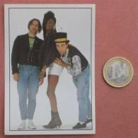 BLACK BOX Pop-music Group ( Yugoslavian Rare Collectiable Card - Sticker Smash Hits ) * Musique Musica Musik - Stickers