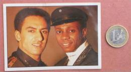 THE LONDON BOYS Pop-music Group ( Yugoslavian Rare Collectiable Card - Sticker Smash Hits ) * Musique Musica Musik - Stickers