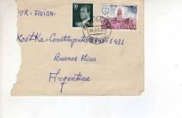 ESPAÑA CARTA  CIRCULADA      OHL - 1931-Hoy: 2ª República - ... Juan Carlos I