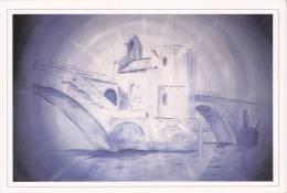 """""""Le Pont Saint-Benezet D´Avignon"""", Peinture à L´huile De Georges Toussaint-Roux, 1989. - Avignon (Palais & Pont)"""