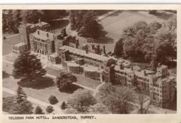 Selsdon Park Hotel, Sanderstead, Surrey.     RPPC.    (D979). - Surrey