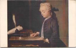 CHARDIN - L'Enfant Ao Toton - Comité National De L´Enfance - Pintura & Cuadros
