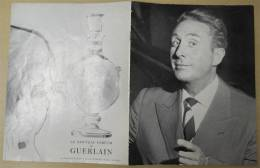 Brochure Charles Trenet, Avec Textes, Photos, Nombreuses Publlicités 21x27cm 6 Feuilles éditeur Imp Moderne Livry-Gargan - Programs