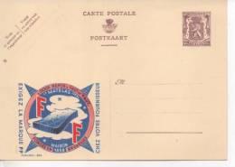 ENTIER BELGE PUBLICITAIRE PUBLIBELS N° 856 LITERIE MATELAS FF - Stamped Stationery