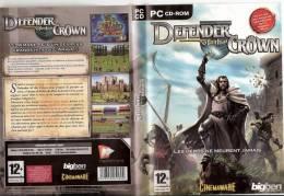 """JEUX POUR PC """" DEFENDER OF CROWN ETAT PARFAIT  + 12 ANS - PC-Games"""