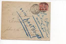 14 Bayeux 1904 - CAD Manuel A3 Sur Mouchon N° 125 Seul - 1877-1920: Période Semi Moderne