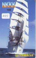 Télécarte Japon * BATEAU VOILIER * Sailing SHIP (255) Phonecard Japan * SCHIFF * Segelschiff * Zeilboot  YACHT - Barche