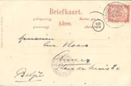 _ik269: N° 46: TANDJONGBALEI (korte Balk) / Briefkaart:  Radhan Ardjoena...> Anvers 13 - Niederländisch-Indien