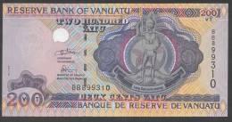 VANUATU:  200 Vatu - 2007 -  UNC - Vanuatu