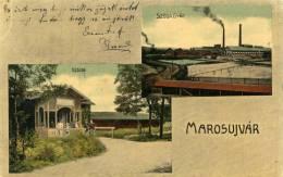 Romania-----Marosujvar-----old Postcard - Rumänien