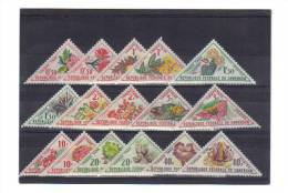 CAMEROUN Taxe 35 à 50 Neufs ** - Cameroun (1915-1959)